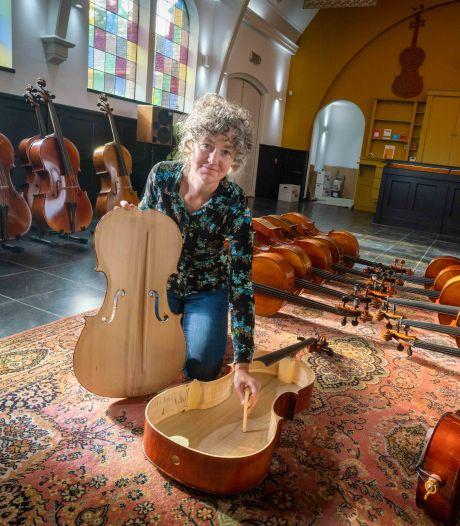 Dieren is nu het dorp van de cello: 'Het is mooi geworden, vind ik zelf'