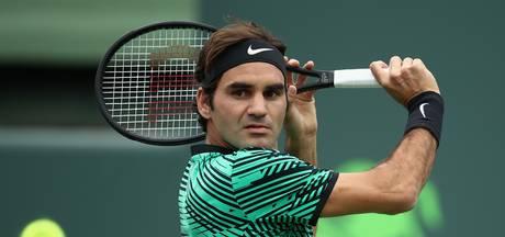 Ook Federer naar derde ronde in Miami