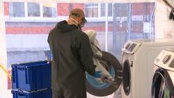 Stuivenbergziekenhuis in Antwerpen introduceert wasstraat