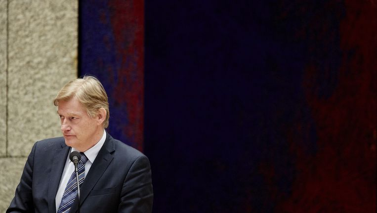 Staatssecretaris Martin van Rijn, die zich bezighoudt met de pgb Beeld ANP