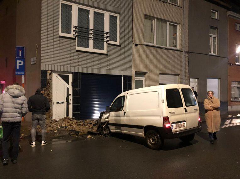 De bewoners waren niet thuis op het moment van het ongeluk.