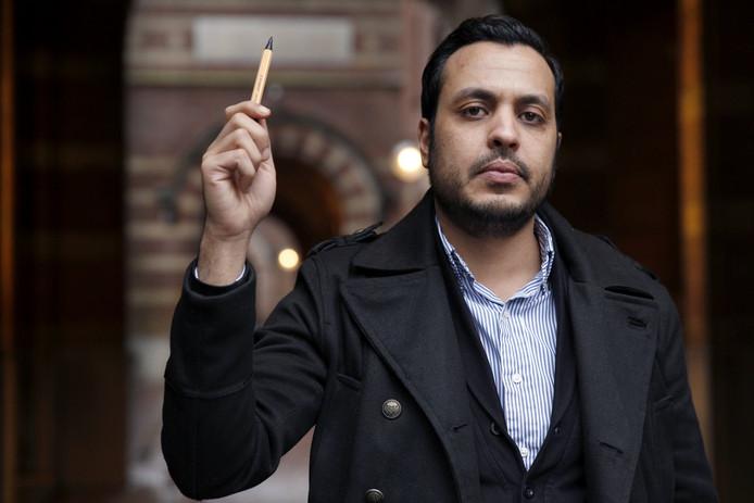 Nourdin El Ouali is uitgeroepen tot Rotterdams Politicus van het Jaar (2015)