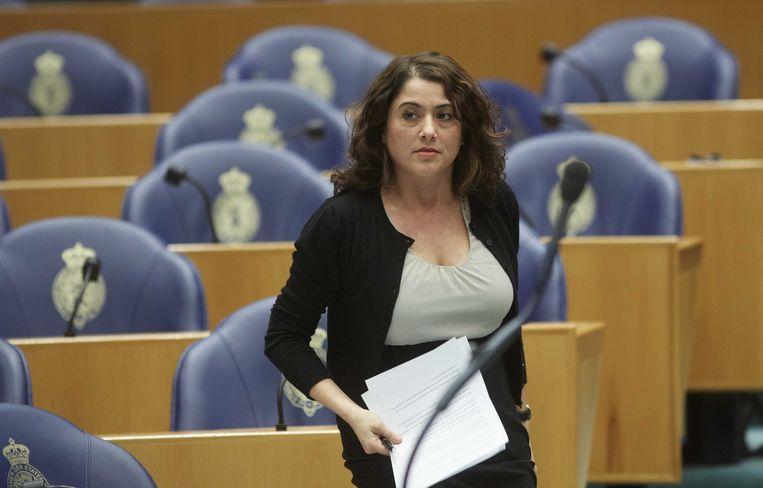 SP-Kamerlid Sadet Karabulut wil gesubsidieerde banen creëren. Beeld anp