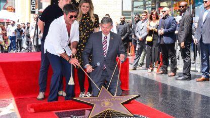Ook Simon Cowell heeft nu eigen ster op Hollywood Walk of Fame