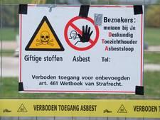 Oss maakt al werk van verbod op asbestdak
