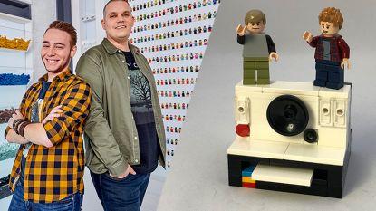 Björn en Corneel van 'LEGO Masters' tonen hoe je Polaroid-camera bouwt