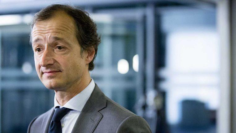 Staatssecretaris Wiebes. Beeld ANP