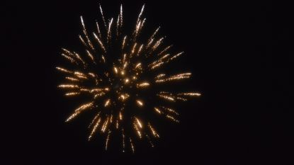 Vuurwerk op oudejaarsavond toegestaan