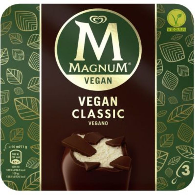 Vegan Magnum Beeld Unilever