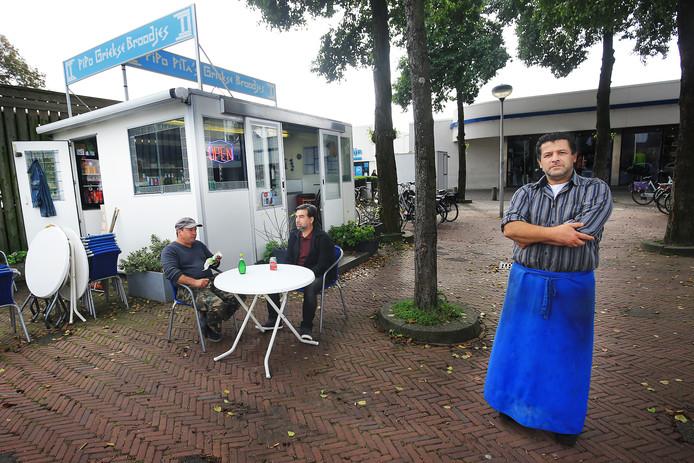 Alireza Maleki van Pipo Pita's: ,,Ik heb alles met toestemming van de gemeente opgebouwd.''