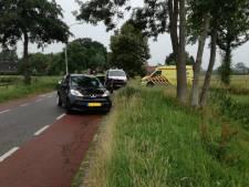 Scooterrijder gewond na aanrijding in Vierakker