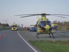 Motorrijder uit Apeldoorn komt om bij ongeluk op Larserweg tussen Lelystad en Zeewolde