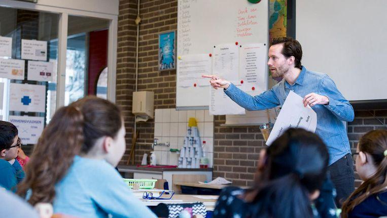 Volgend jaar heeft het Amsterdamse basisonderwijs al 171 vacatures, in 2020 loopt dat aantal op tot 415. Beeld Rink Hof