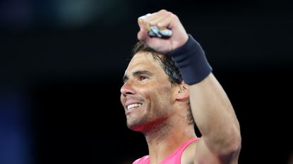Nadal vrij vlot naar derde ronde, ex-winnaar Wawrinka moet er ruim 3,5 uur voor knokken