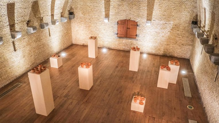 De tentoonstelling blijft tot 20 december in het Kruitmagazijn in Ieper.