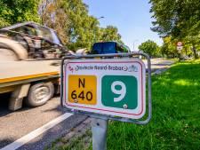 Niet alleen het sluipverkeer rijdt te hard op de N640 bij Hoeven