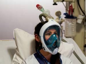 À l'hôpital Erasme, des masques de plongée pour pallier le manque de respirateurs