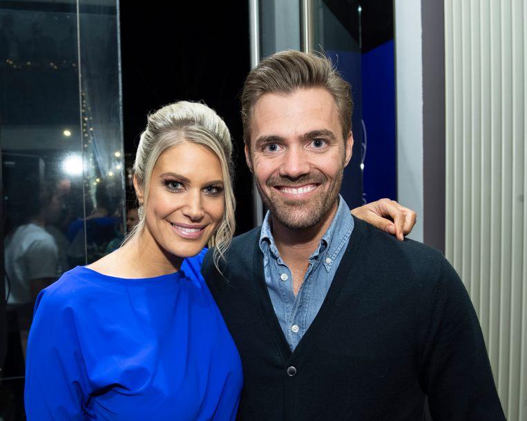 Nele en haar echtgenoot Philippe.