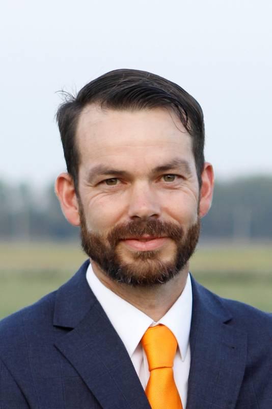 SGP-raadslid Sam Verhelst, indiener van de motie.