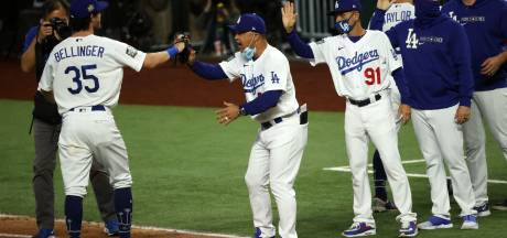 LA Dodgers start World Series met ruime zege op Tampa Bay Rays