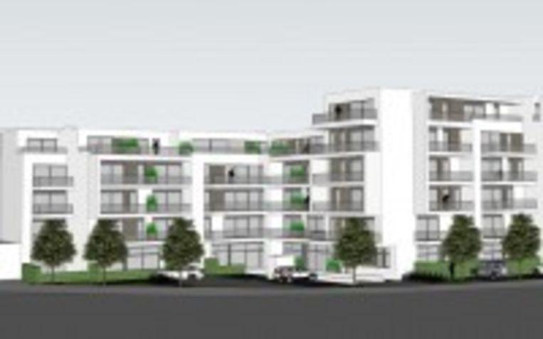 Toekomst appartementen en winkelruimtes met ondergrondse parkeergarage in de Ieperstraat en in het Rekhof.