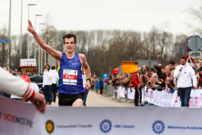 Paul Zwama won de marathon vorig jaar