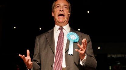 Ophef rond mogelijk illegale financiering van campagne nieuwe brexitpartij Nigel Farage