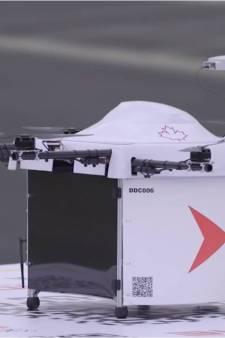 Drones gaan dit afgelegen Canadese eiland voortaan bevoorraden