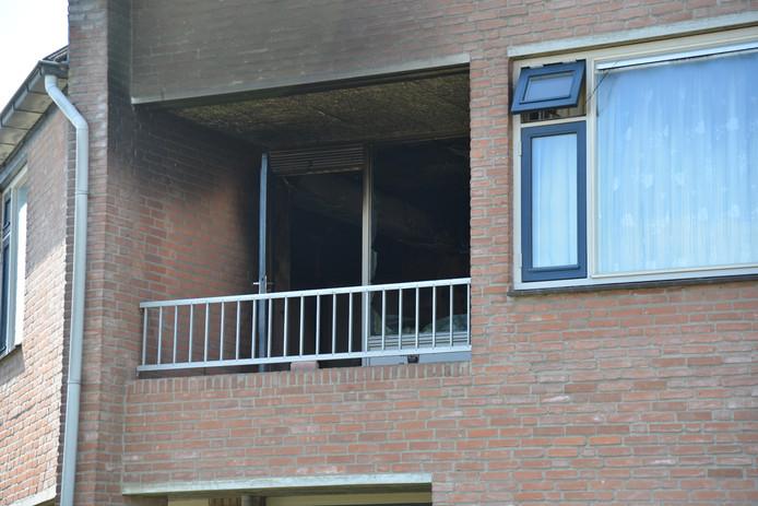 Een persoon gewond bij woningbrand in Etten-Leur.