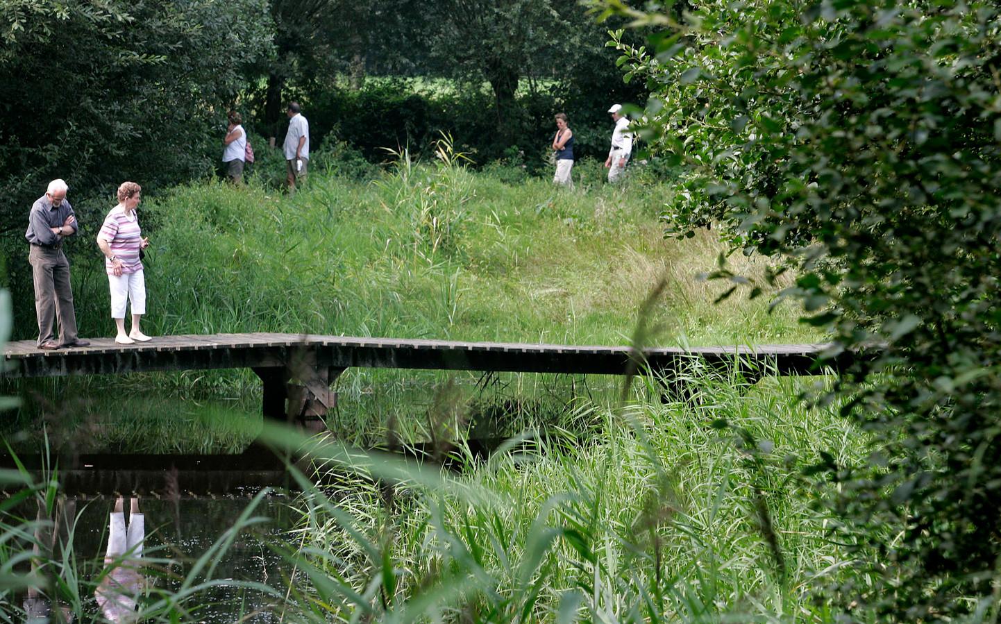 Natuurtuin de Robbert in Helmond (archieffoto).