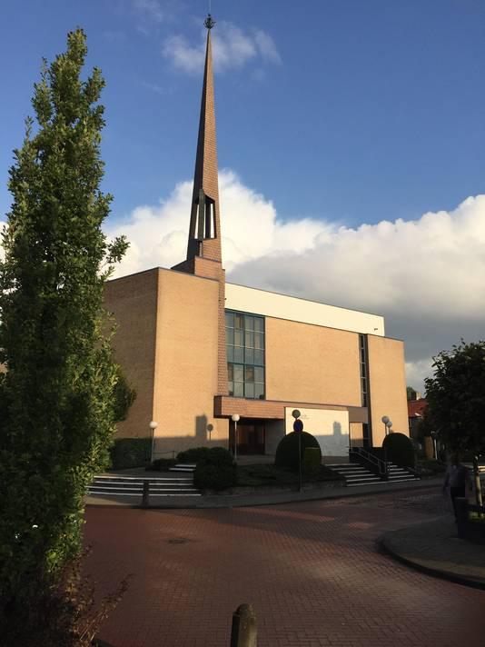 De huidige kerk van de Gereformeerde Gemeenten in Yerseke.