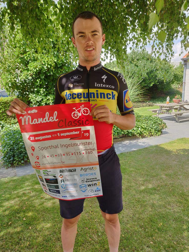 Ingelmunsters wielericoon Yves Lampaert promoot met plezier de tweede Mandel Classic.