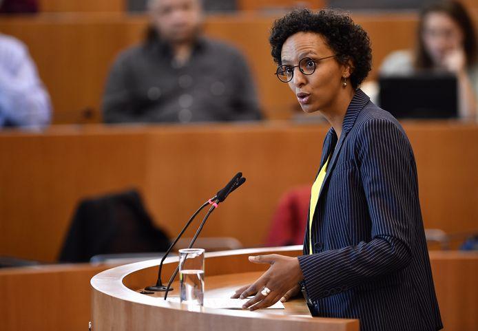 Barbara Trachte, secrétaire d'État à la Transition économique (Ecolo).