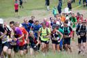 Beeld van  de marathon van Trailrun Bergrace in Lunteren.