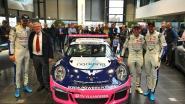 Tom Boonen stelt auto voor Belcar-races voor