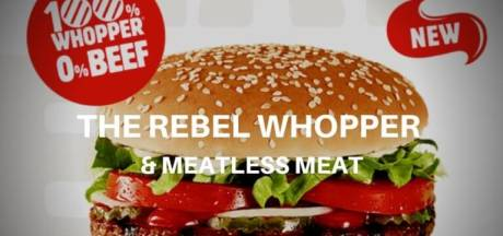 Burger King introduceert vandaag de vegetarische Whopper