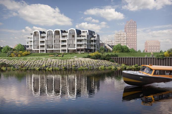 Impressie nieuwbouwwijk De Kade in Maassluis