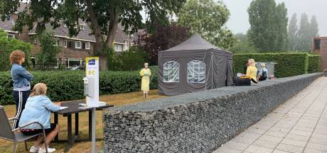 Testlocatie voor personeel bij verpleeghuis Talma Hof in Emmeloord