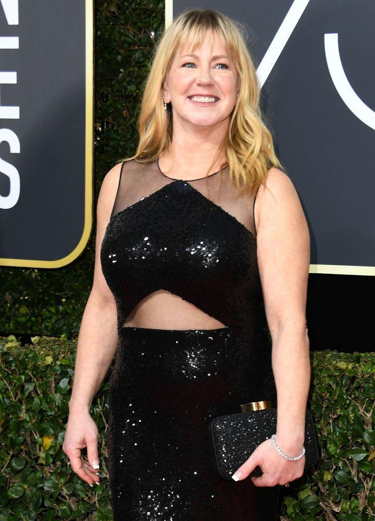 Tonya Harding was een opgemerkte aanwezige op de Golden Globe Awards, die op 7 januari werden georganiseerd.
