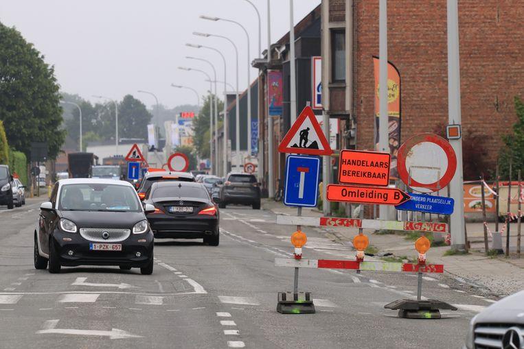 Heel wat chauffeurs negeerden de verbodsborden maar moesten daarna toch rechtsomkeer maken.