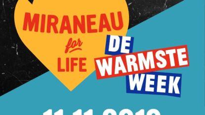 """Miraneau for Life bouwt 'het warmste terras': """"Foodstands, live muziek en kinderanimatie"""""""