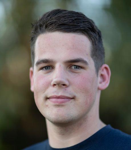 'Luie' waterpoloër Steijn Lammers van BZC heeft zichzelf een schop onder de kont gegeven