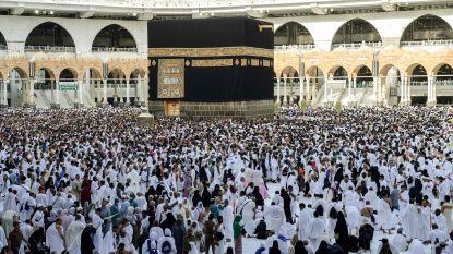 Saoedi-Arabië laat duizendtal pelgrims op bedevaart naar Mekka