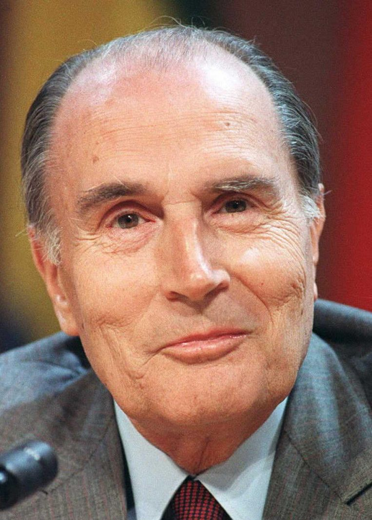 Francois Mitterrand in 1987. Beeld AFP