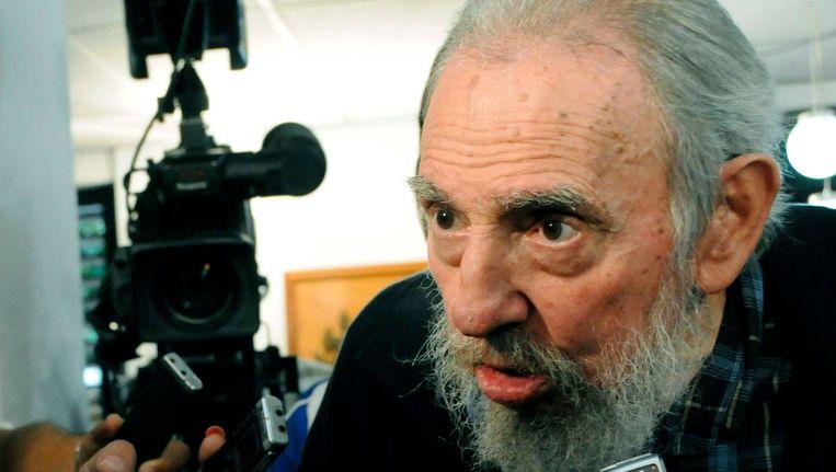 Fidel Castro op 3 februari Beeld REUTERS