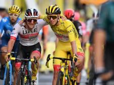 Pogacar wint Tour bij debuut: 'Was al blij geweest met laatste plaats'