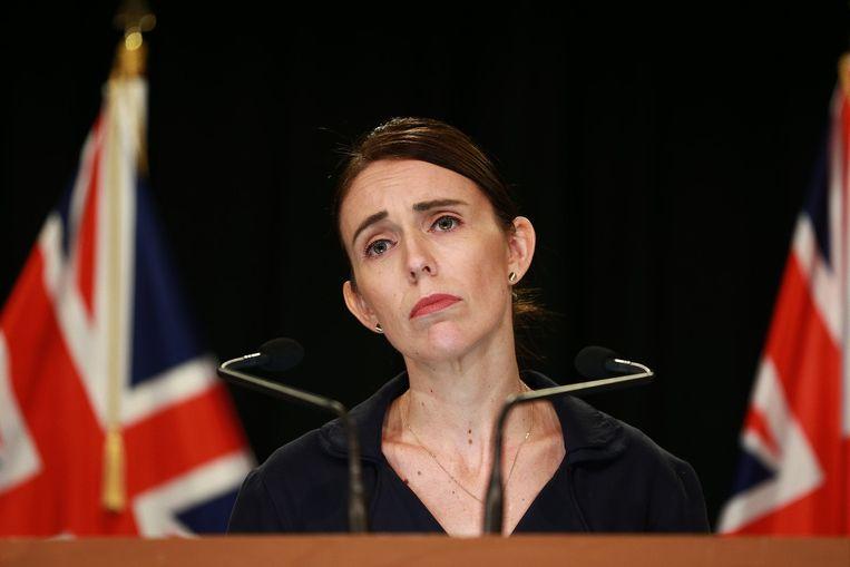 Premier van Nieuw-Zeeland Jacinda Ardern. Beeld Getty Images