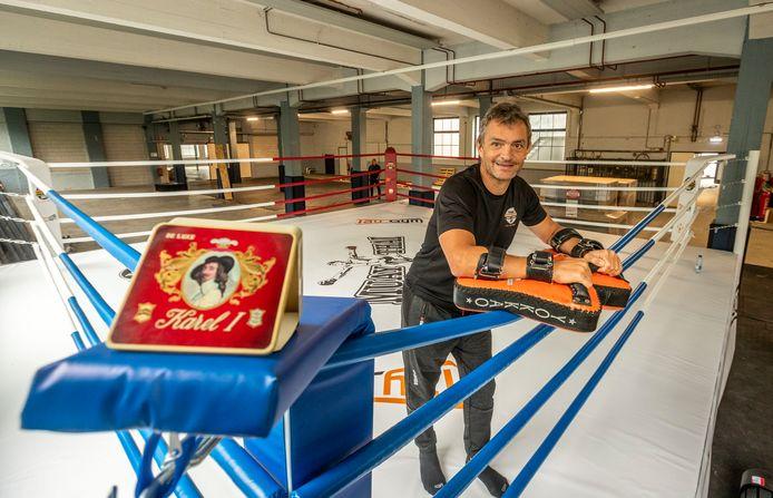 Ludo Kaethoven is een nieuwe sportschool begonnen in het gebouw van de Karel I fabriek in Reusel.