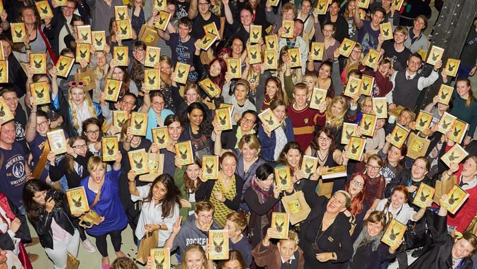 Harry Potter-fans met het nieuwste boek