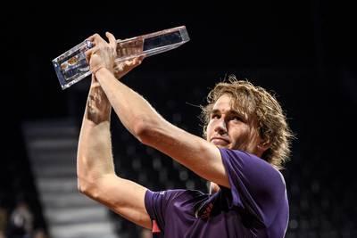Zverev pakt titel aan vooravond Roland Garros
